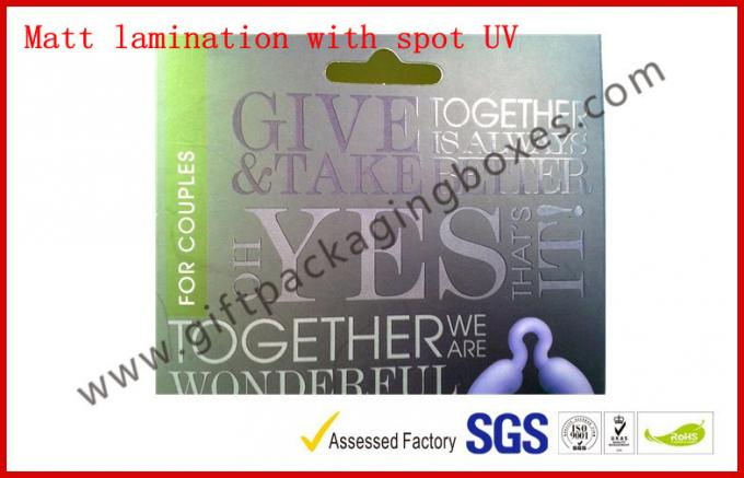 Spot UV Fashion Card Board Packaging, Personalized C2s Paper Gift Box For Promotion