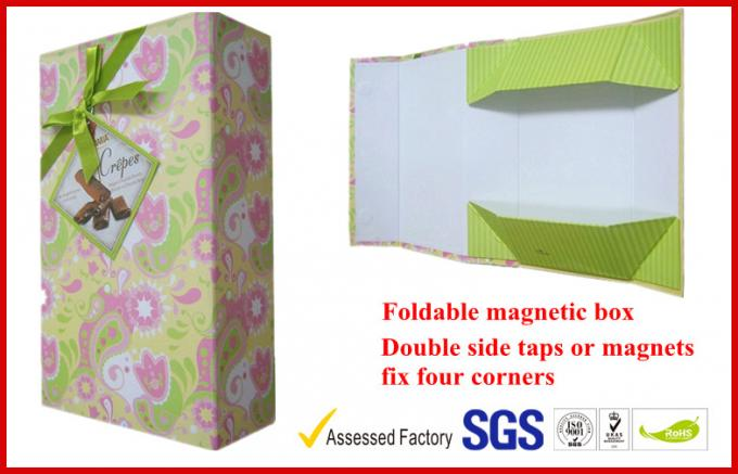 Foldable Rigid Food Gift Packaging Boxes, Personalized Chocolate Packaging Box