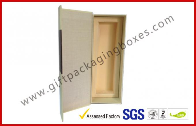 High End Wine Packaging Gift Boxes , Magnetic Wine Packaging