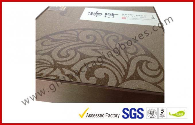 Hiend Luxury Gift Boxes for Puer Tea with Original Design Spot UV Pattern Coverring