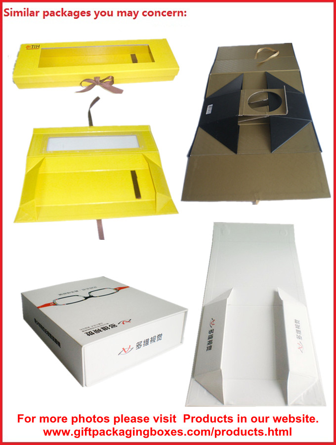 Duplex Board Rigid Magnetic Cosmatic Packaging Boxes With Book Shape