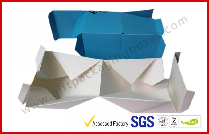 Foldable Card Board Packaging , Tea Bag Coffee Bag Paper Box  With Spot UV