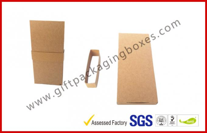 Collapsible Gift Boxes , Craft Paper Gift Package Boxes With Sleeve