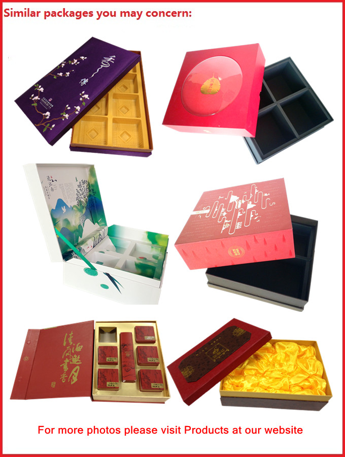 High Glossy Printed Win Gift Box Locked System with Thermocol Plastic Tray