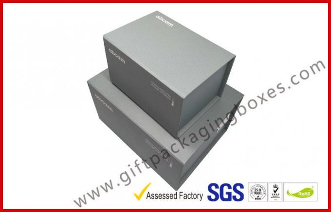 Handmade magnet gift packing box different size CMYK printing with black foam inside