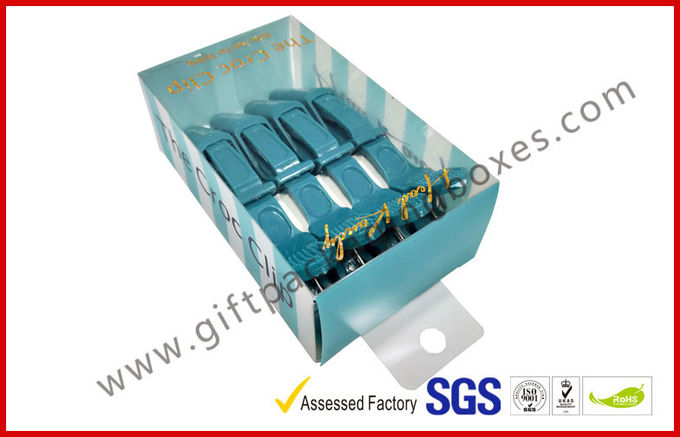 PETG / PVC Plastic Clamshell Packaging box with hanger , plastic gift boxes